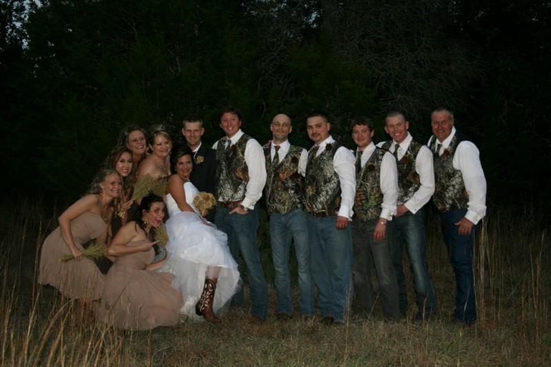 Camo Wedding